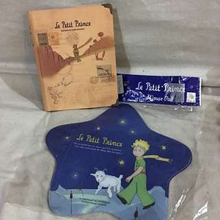 The Little Prince journal & mousepad set