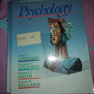 [SET] Hardcover Ninth Edition Introduction To Psychology And Study Guide