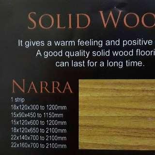 Engineered Wood - Solid Wood - Deck Flooring