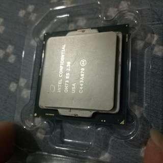 效能同i7 CPU 1151腳位 4c8t ES