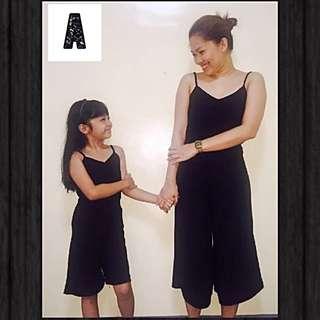Mom & Daughter's Terno Dress