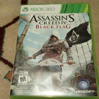 Assassin's Creed Black Flag For Xbox 360