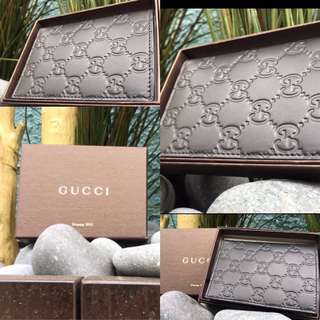 Gucci Men's Wallet. 100% Auth & New