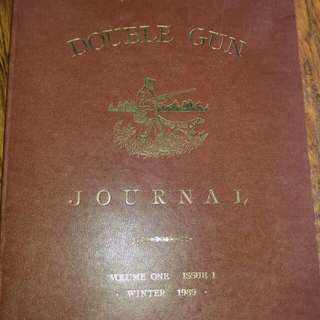 The Double Gun Journal Volume 1 & 4