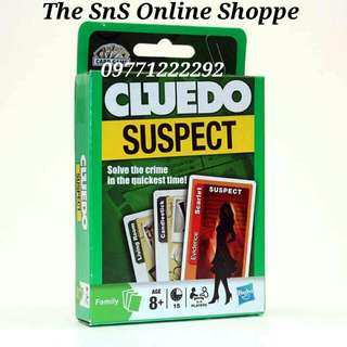 Cluedo Suspect Card Game