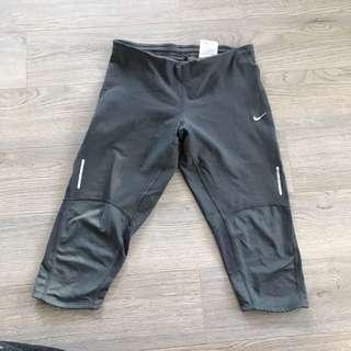 Nike Grey Workout Capris
