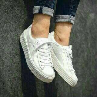 Puma Rihanna putih sneakers sepatu jalan santai adidas nike