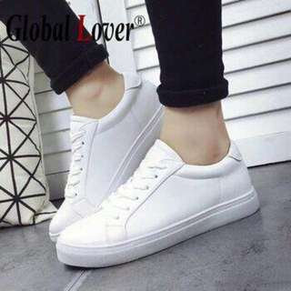 sepatu sneakers putih full