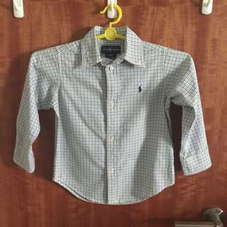 Clearance [Fast Deal $18] PL Authentic Polo Ralph Lauren Long Sleeve Shirt