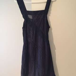 BCBG Runway Dress - Size Small - Navy