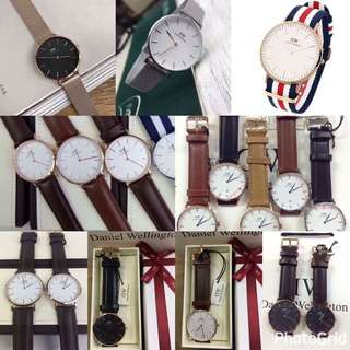 Daniel Wellington, MK, Anne Klein Watch