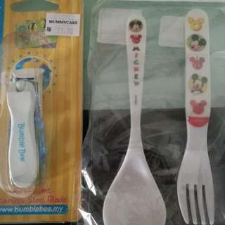 Cutlery Set & Nail Clipper