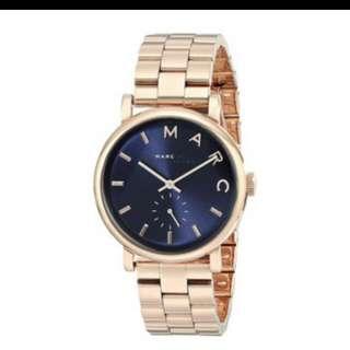🚚 MBMJ藍底不銹鋼鍊錶