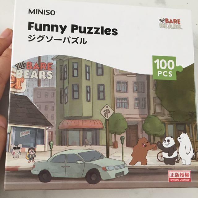 100 Pcs Puzzle Excellent Condition