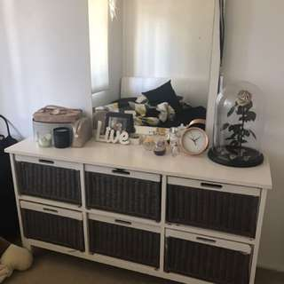 Home Made Dresser With Mirror