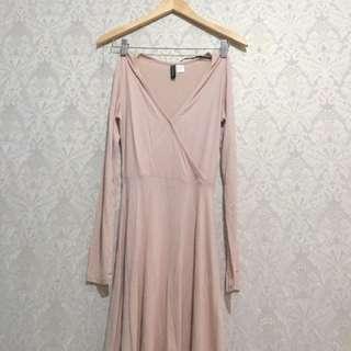 H and M Dress / H&M Cotton Mini Dress