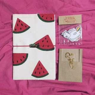 Watermelon Travel Journal