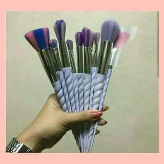 10pcs. Unicorn Brushes ❤