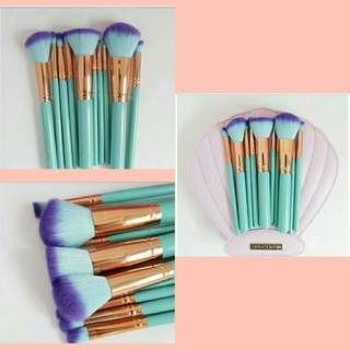 10pcs. Spectrum Mermaid Brushes ❤