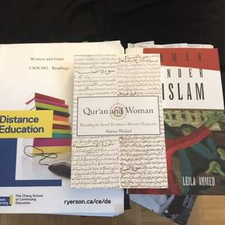 Ryerson Women And Islam Course Pack And Textbooks