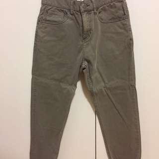 Boyfriend Fit Grey Jeans