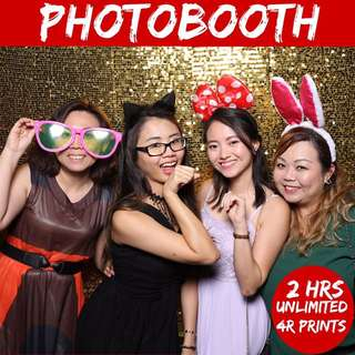 Photo Booth Instant Print For Your Birthday Or Wedding