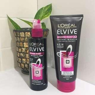 ⬇️L'Oréal Paris Elvive Anti Hair Fall Spray & Treatment