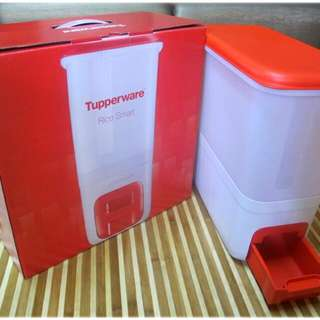 Rice Storage Tupperware