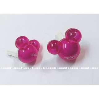 🚚 【小韻車材】迪士尼 米奇 米奇頭 香水瓶 汽車出風口香水夾 空調 可愛 裝飾 擺飾