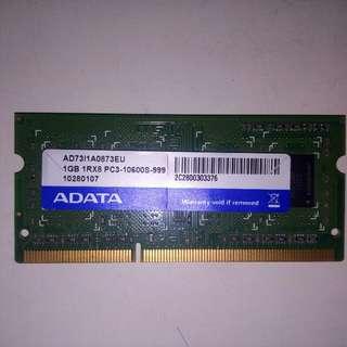 RAM LAPTOP ADATA 1GB