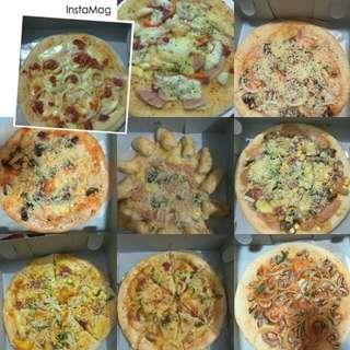 Annisa pizza homemade