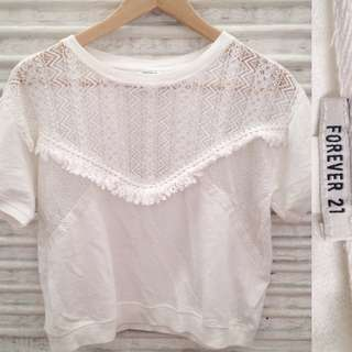 Forever 21 Bohemian Top