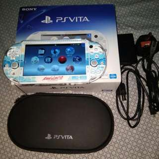 PS Vita Slim 3.60 With 64gb White