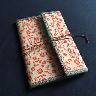 Handmade Paper Notebook From India