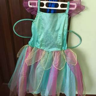 Fairy Dress/costume For Your Little Miss 4-6