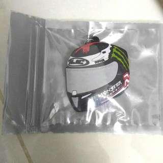 New Helmet Key Ring