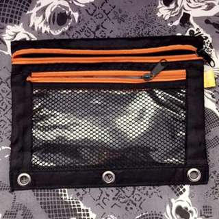 Zip Up Pencil Case