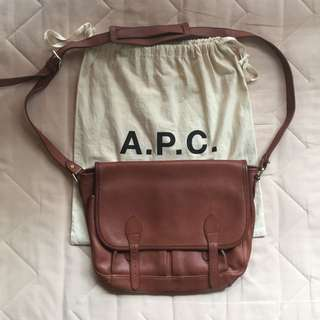 REPRICED - A.P.C. Messenger Bag