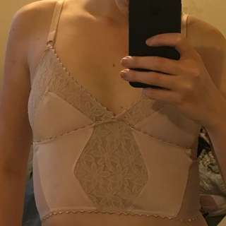 Lonely Lingerie Pale Pink Bralet
