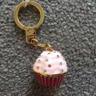 Kate Spade Cup Cake Key Chain