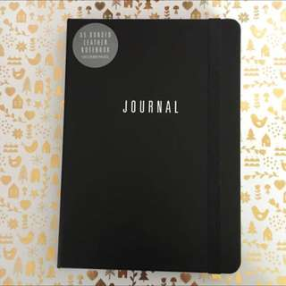 Kikki K A5 Leather Notebook Journal Brand New Rep $24.95