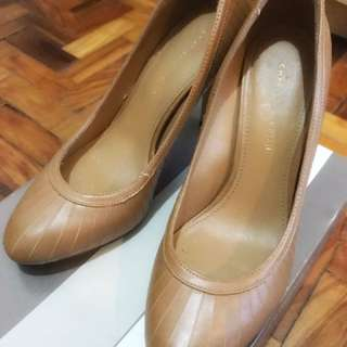Charles & Keith Camel Pumps