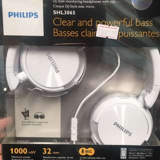 Phillips Profesional Dj Headphone With Mic