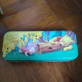 #MAYSALE# Winnie The Pooh 小熊維尼 大容量三層筆盒 Pencil Box