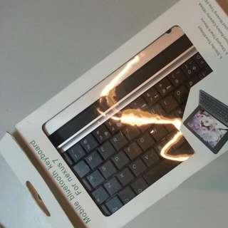 藍牙鍵盤,Nexus7可當機套