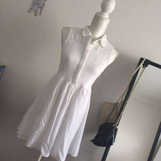TOKITO little white dress