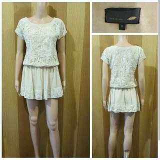 FENDI Cut Tag Lace Dress