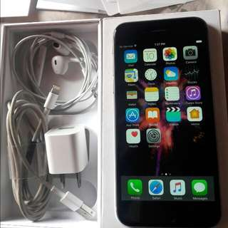 iphone 6 Space Gray (64gb) (negotiable)
