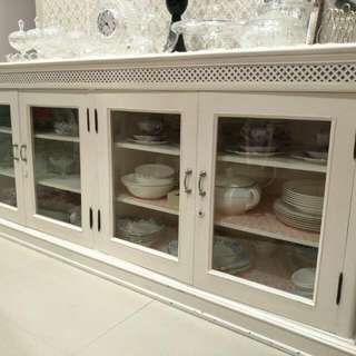 Solid Wood Display Cabinet $100 Clearance!!