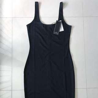 Cotton On Black Bodycon Dress